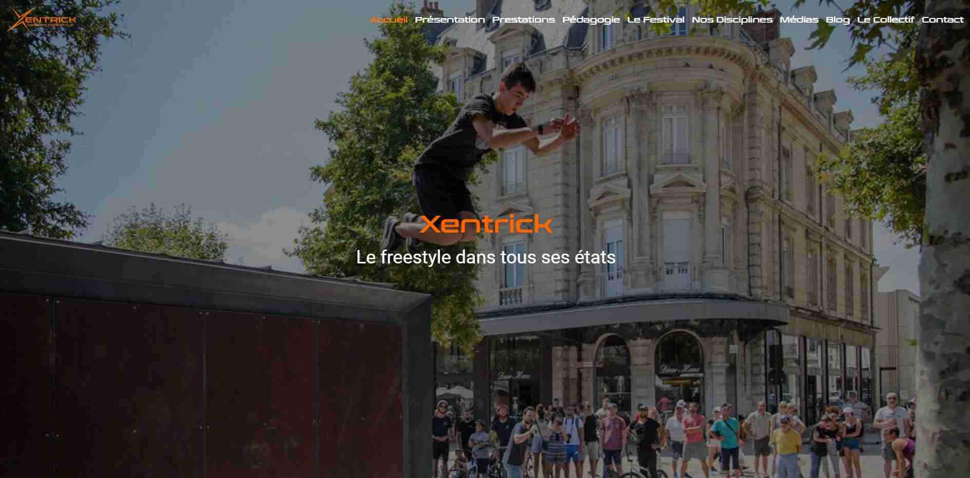 Photo du site Xentrick Sport Freestyle